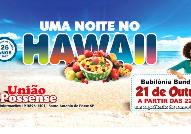 União volta a realizar a tradicional Festa do Hawaii