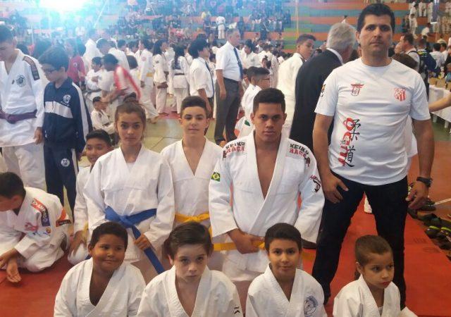Equipe de Judô do União Possense faz bonito em torneio na região