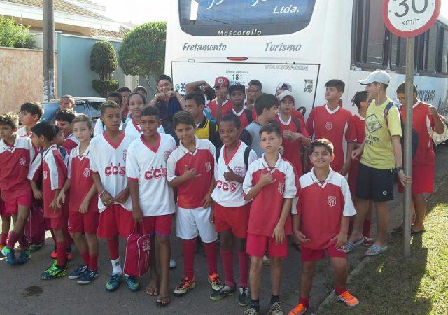 Garotada da Escolinha de Futebol do União dá show de bola em Mogi Mirim