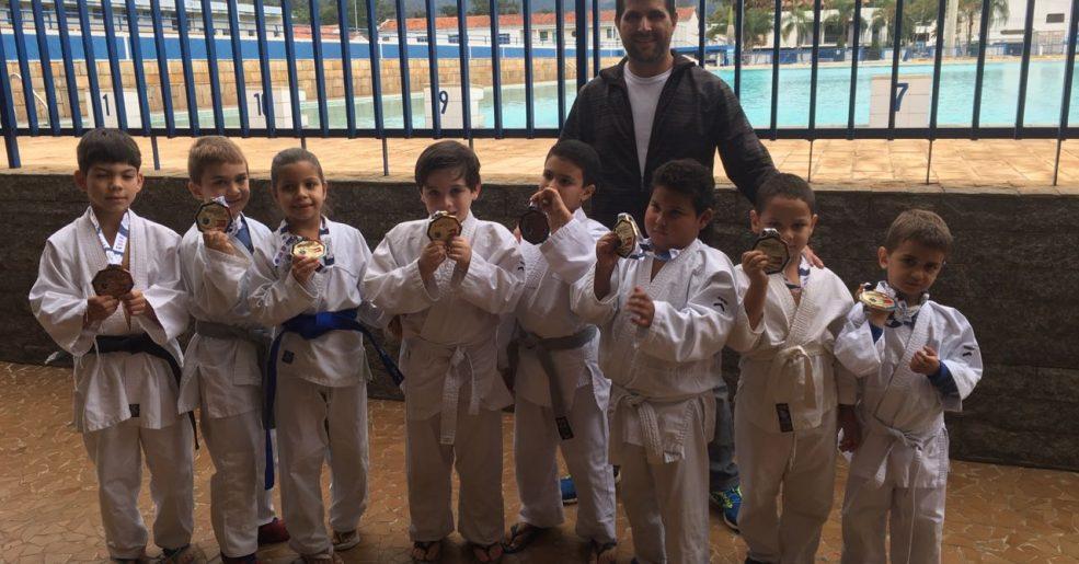 Nova geração do Judô possense dá show em torneio na cidade de Amparo