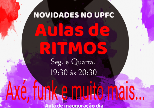 União iniciará Aula de Ritmos no mês de setembro