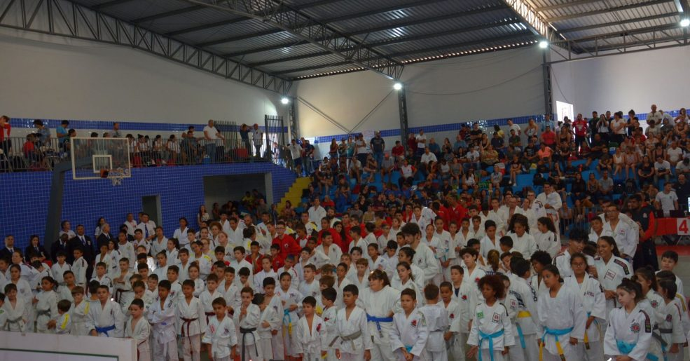 1º Torneio de Judô de Santo Antônio de Posse reúne mais de 400 atletas